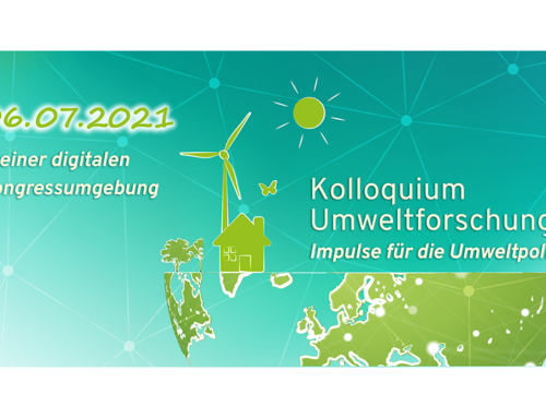 Register for the Colloquium Environmental Research 2021!